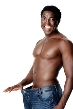 Man after Belly Fat Loss