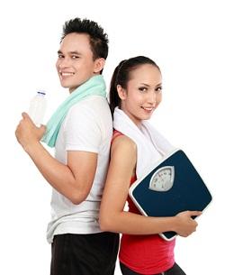 Couple Ready to Exercise